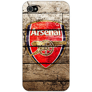 Enhance Your Phone Arsenal Back Cover Case For Apple iPhone 4 E10507