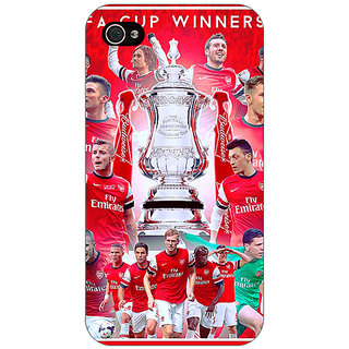 Enhance Your Phone Arsenal Back Cover Case For Apple iPhone 4 E10516
