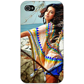 Enhance Your Phone Bollywood Superstar Shruti Hassan Back Cover Case For Apple iPhone 4 E11071