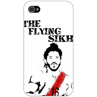Enhance Your Phone Bollywood Superstar Milkha Singh Back Cover Case For Apple iPhone 4 E11107