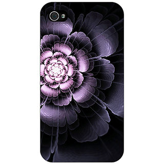 Enhance Your Phone Abstract Flower Pattern Back Cover Case For Apple iPhone 4 E11518