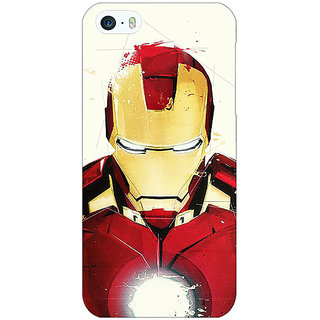 Enhance Your Phone Superheroes Ironman Back Cover Case For Apple iPhone 5 E20023