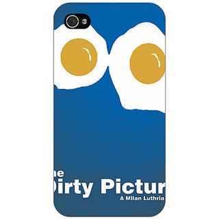 Enhance Your Phone Bollywood Superstar Dirty Picture Back Cover Case For Apple iPhone 4 E11128