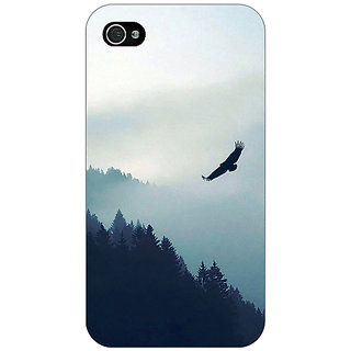 Enhance Your Phone Mountains Valleys Back Cover Case For Apple iPhone 4 E11137