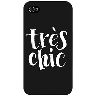Enhance Your Phone Quote Back Cover Case For Apple iPhone 4 E11469