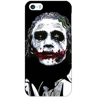 Enhance Your Phone Villain Joker Back Cover Case For Apple iPhone 5 E20048