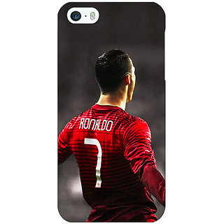 Enhance Your Phone Cristiano Ronaldo Portugal Back Cover Case For Apple iPhone 5 E20321