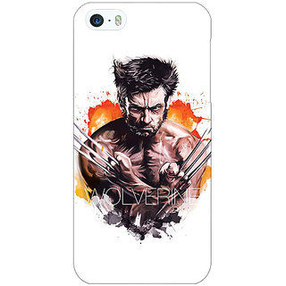 Enhance Your Phone Superheroes Wolverine Back Cover Case For Apple iPhone 5 E20335