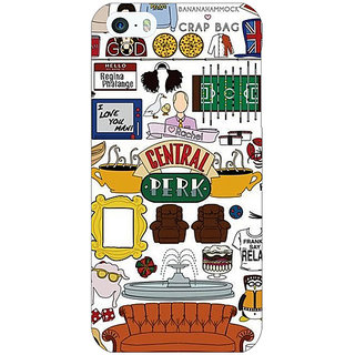 Enhance Your Phone TV Series FRIENDS Back Cover Case For Apple iPhone 5 E20342