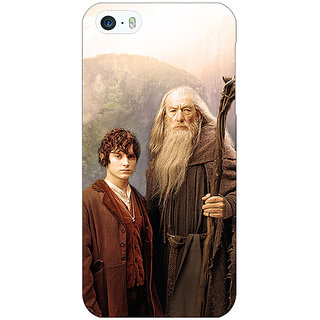 Enhance Your Phone LOTR Hobbit Gandalf Frodo Back Cover Case For Apple iPhone 5 E20357