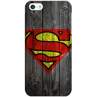 Enhance Your Phone Superheroes Superman Back Cover Case For Apple iPhone 5 E20384