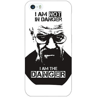 Enhance Your Phone Breaking Bad Heisenberg Back Cover Case For Apple iPhone 5 E20404