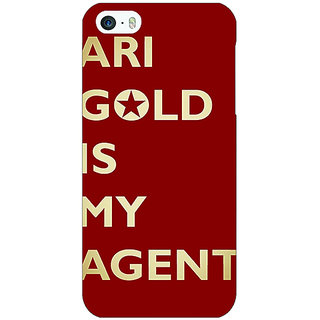 Enhance Your Phone Entourage Ari Gold Back Cover Case For Apple iPhone 5 E20436