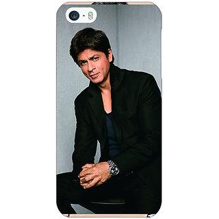Enhance Your Phone Bollywood Superstar Shahrukh Khan Back Cover Case For Apple iPhone 5 E20920
