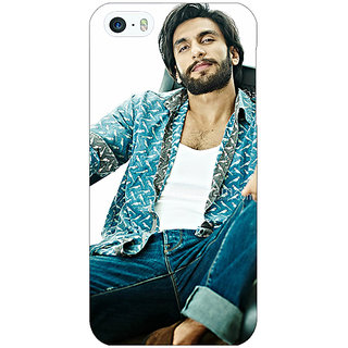 Enhance Your Phone Bollywood Superstar Ranveer Singh Back Cover Case For Apple iPhone 5 E20955