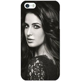 Enhance Your Phone Bollywood Superstar Katrina Kaif Back Cover Case For Apple iPhone 5 E21005