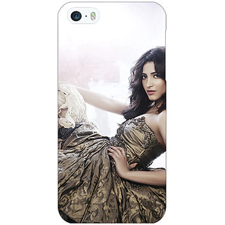 Enhance Your Phone Bollywood Superstar Shruti Hassan Back Cover Case For Apple iPhone 5 E21014
