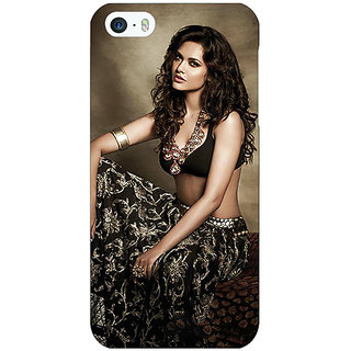 Enhance Your Phone Bollywood Superstar Esha Gupta Back Cover Case For Apple iPhone 5 E21029