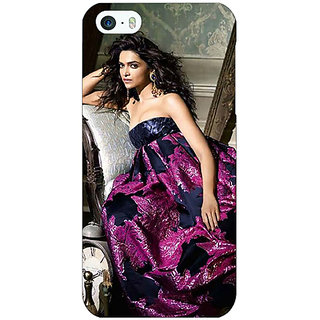 Enhance Your Phone Bollywood Superstar Deepika Padukone Back Cover Case For Apple iPhone 5 E21037