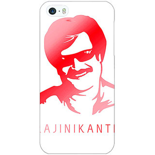 Enhance Your Phone Rajni Rajanikant Back Cover Case For Apple iPhone 5 E21493