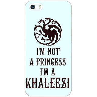 Enhance Your Phone Game Of Thrones GOT Princess Khaleesi Back Cover Case For Apple iPhone 5 E21538