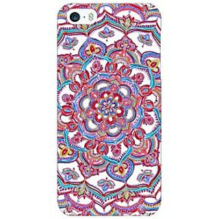 Enhance Your Phone Flower Circles Pattern Back Cover Case For Apple iPhone 5c E30230