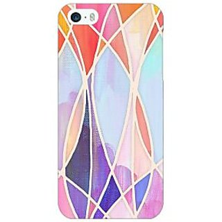 Enhance Your Phone Designer Geometry Pattern Back Cover Case For Apple iPhone 5c E30237