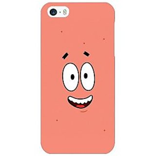 Enhance Your Phone Spongebob Patrick Back Cover Case For Apple iPhone 5 E20465