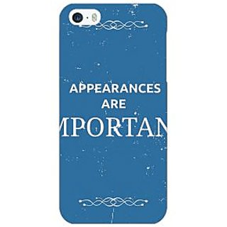 Enhance Your Phone SUITS Quotes Back Cover Case For Apple iPhone 5 E20480