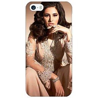 Enhance Your Phone Bollywood Superstar Nargis Fakhri Back Cover Case For Apple iPhone 5 E21075