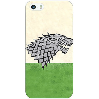 Enhance Your Phone Game Of Thrones GOT House Stark  Back Cover Case For Apple iPhone 5c E30120