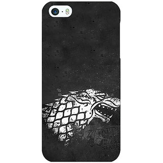 Enhance Your Phone Game Of Thrones GOT House Stark  Back Cover Case For Apple iPhone 5c E30125