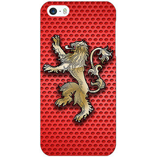Enhance Your Phone Game Of Thrones GOT House Lannister  Back Cover Case For Apple iPhone 5c E30155