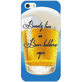 Enhance Your Phone Beer Holder Back Cover Case For Apple iPhone 5c E31208
