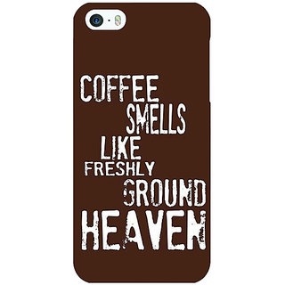 Enhance Your Phone Coffee Quote Back Cover Case For Apple iPhone 5c E31221