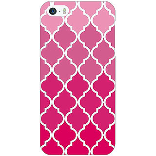 Enhance Your Phone Morocco Pattern Back Cover Case For Apple iPhone 5 E21439