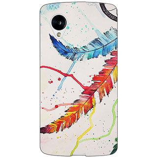Enhance Your Phone Dream Catcher  Back Cover Case For Google Nexus 5 E40195