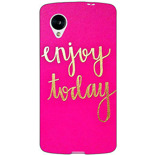 Enhance Your Phone QQQQ Back Cover Case For Google Nexus 5 E41167