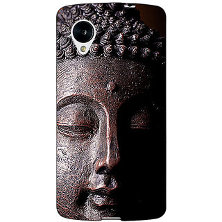 Enhance Your Phone Gautam Buddha Back Cover Case For Google Nexus 5 E41285