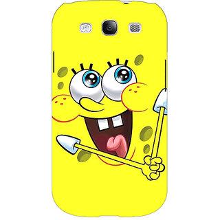 Enhance Your Phone Spongebob Back Cover Case For Samsung Galaxy S3 E50460