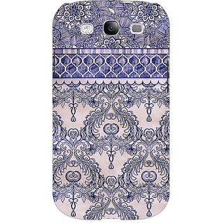 Enhance Your Phone Vintage English Pattern Back Cover Case For Samsung Galaxy S3 E50259