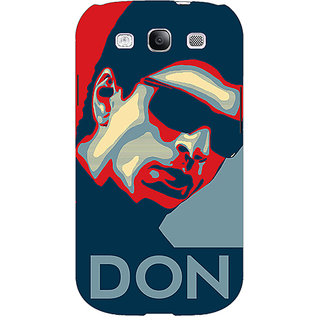 Enhance Your Phone Bollywood Superstar Don Shahrukh Khan Back Cover Case For Samsung Galaxy S3 E51113