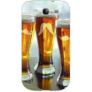 Enhance Your Phone Beer Glasses Back Cover Case For Samsung Galaxy S3 E51202