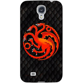 Enhance Your Phone Game Of Thrones GOT House Targaryen  Back Cover Case For Samsung Galaxy S4 I9500 E60138