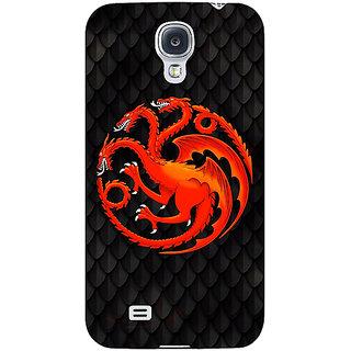 Enhance Your Phone Game Of Thrones GOT House Targaryen  Back Cover Case For Samsung Galaxy S4 I9500 E60138