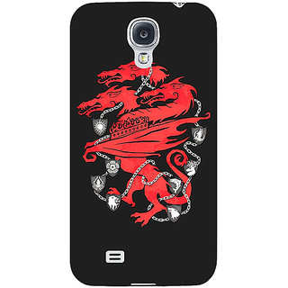 Enhance Your Phone Game Of Thrones GOT House Lannister  Back Cover Case For Samsung Galaxy S4 I9500 E60157