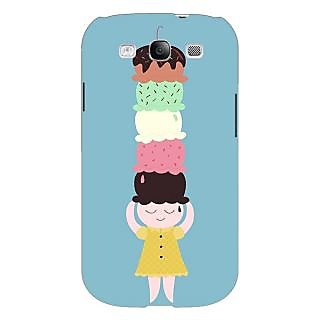 Enhance Your Phone Ice Cream Back Cover Case For Samsung Galaxy S3 E51340
