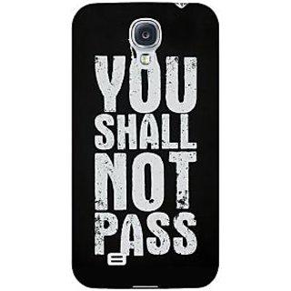 Enhance Your Phone LOTR Hobbit Gandalf Back Cover Case For Samsung Galaxy S4 I9500 E60362