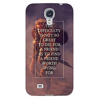 Enhance Your Phone LOTR Hobbit  Back Cover Case For Samsung Galaxy S4 I9500 E60367