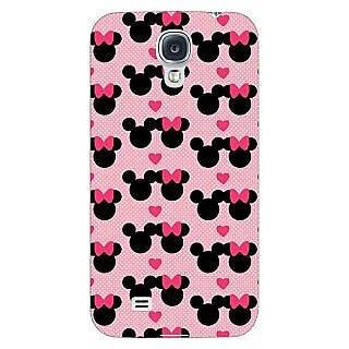 Enhance Your Phone Mickey Minnie Mouse Back Cover Case For Samsung Galaxy S4 I9500 E61417